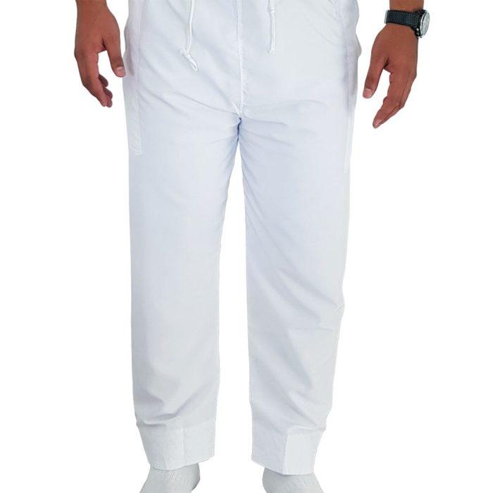 Pantalon de qamis blanc khal